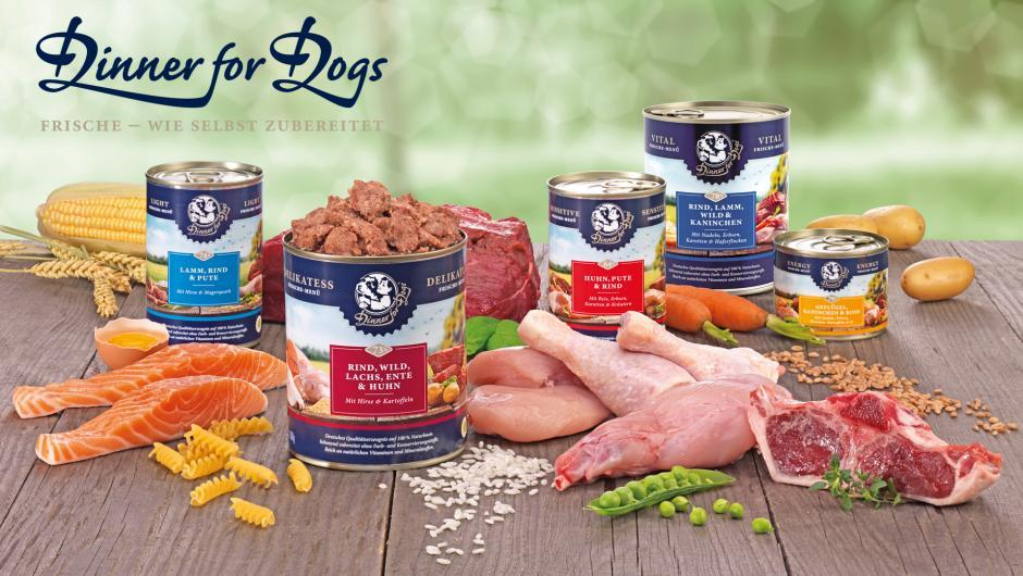 Dinner for Dogs - Neuer Partner